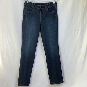 Gloria Vanderbilt Avery Straight Leg Jeans Size 6P